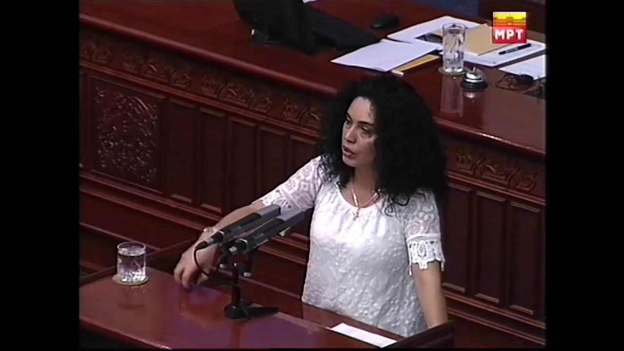 ВМРО ДПМНЕ поднесе интерпелација за министерот  Алаѓозовски