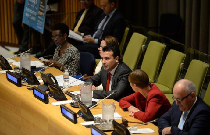 Премиерот Заев се обрати во рамките на дебатите на Генералното собрание на Обединетите Нации
