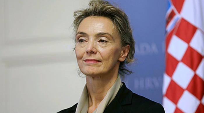 Министерката за надворешни работи на Хрватска во Скопје
