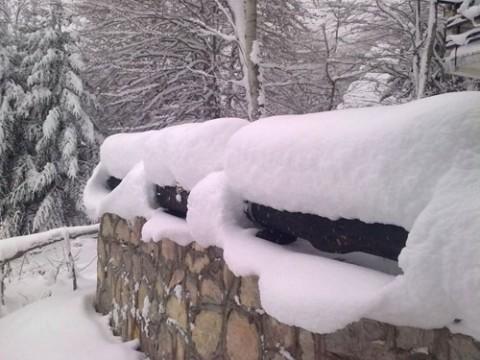 Најстудено во Маврово најмногу снег во Маврови Анови