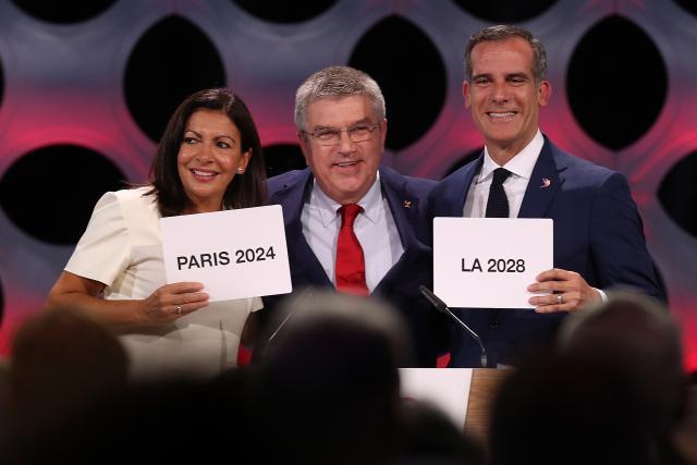 ОИ во Париз во 2024  во Лос Анѓелес во 2028 година