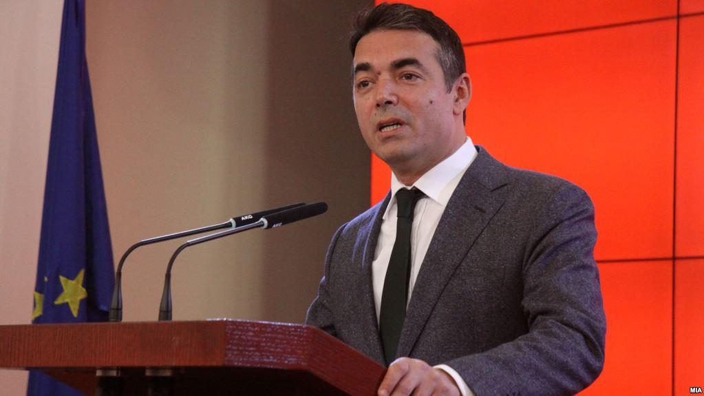 Димитров  Го охрабривме Нимиц во среда да излезе со првичен предлог за името