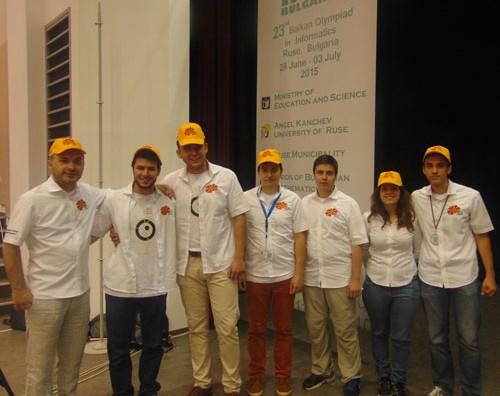 Македонски ученици освија медали на Балканската и на Европската олимпијада по информатика