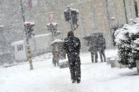 УХМР  Од утревечер  вторник и во среда повремени врнежи од снег