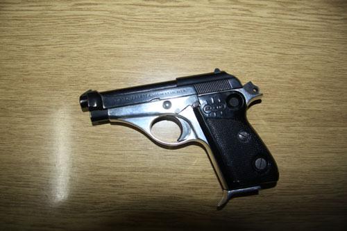 Пиштол пронајден на улуца во населба Ѓорче Петров