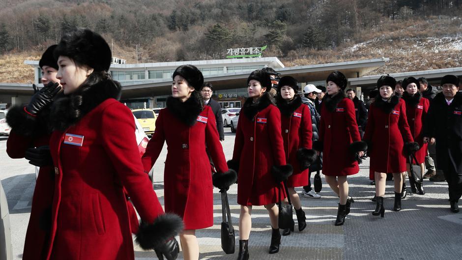 Северно Корејките посебна атракција за светските медиуми  на ЗОИ