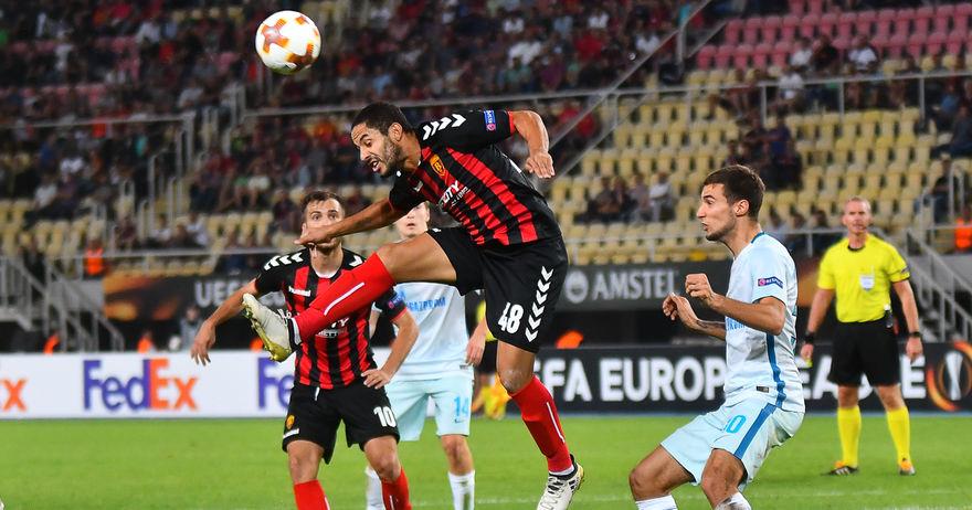 Вардар против Розенборг завршува со настапите во Лига Европа