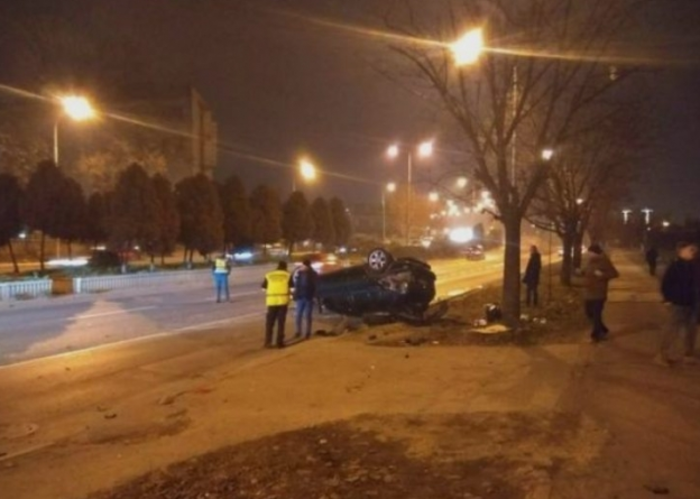 Возач загина во сообраќајка во Скопје