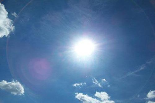 Сончево и потопло со мала облачност