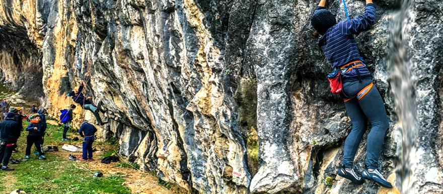 Промоција на качувачки локалитет кај Зелениково  Скопско