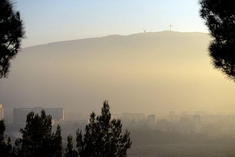 Најзагадено во Скопје во текот на ноќтаноќните часови