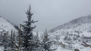 Во Маврово четири сантиметри снег  времето претежно облачно со слаб дожд