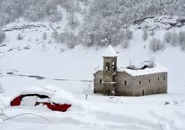 Најмногу снег на Маврово  а дожд во Охрид