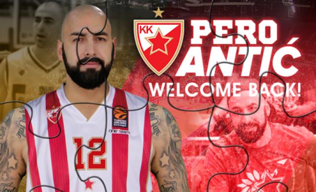 Перо Антиќ се врати во Црвена Ѕвезда