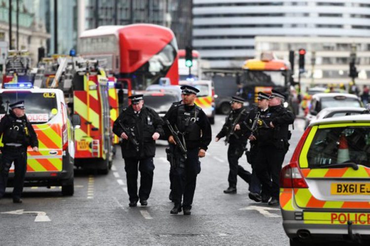 Лондон под полициска опсада   рации низ Лондон