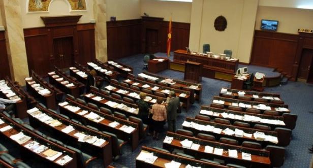 Пауза во Собранието по расправијата меѓу Џафери и пратениците на ВМРО ДПМНЕ