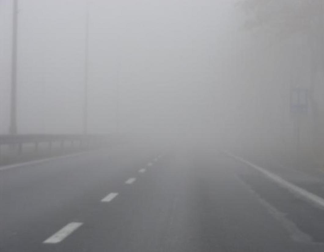 Магла на патниот правец Лисец   Попова Шапка и во Крушево