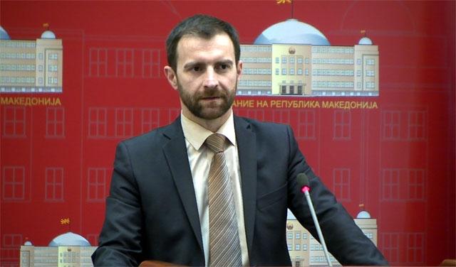 Илија Димовски   претседател на Комисијата   собраниска седница в понеделник