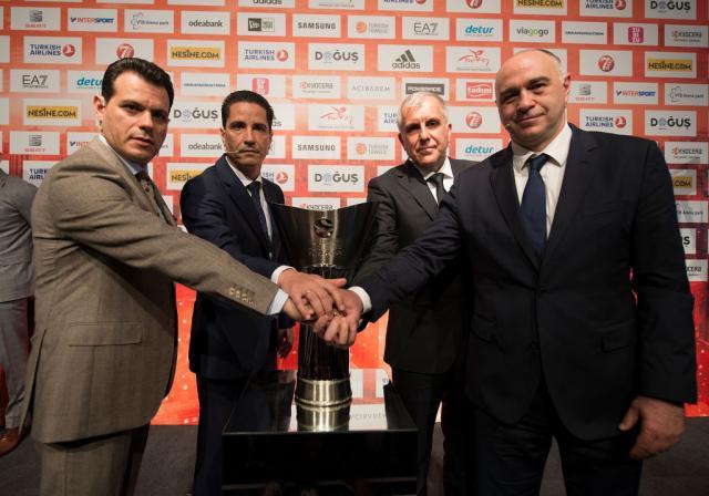 Четири екипи од кошаркарската Евролига во борба за шампионската титула