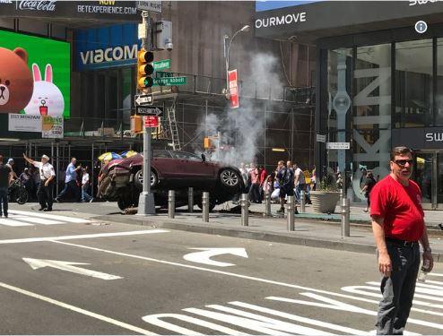Њујоршка полиција  Инцидентот на Тајмс сквер не е терористички напад