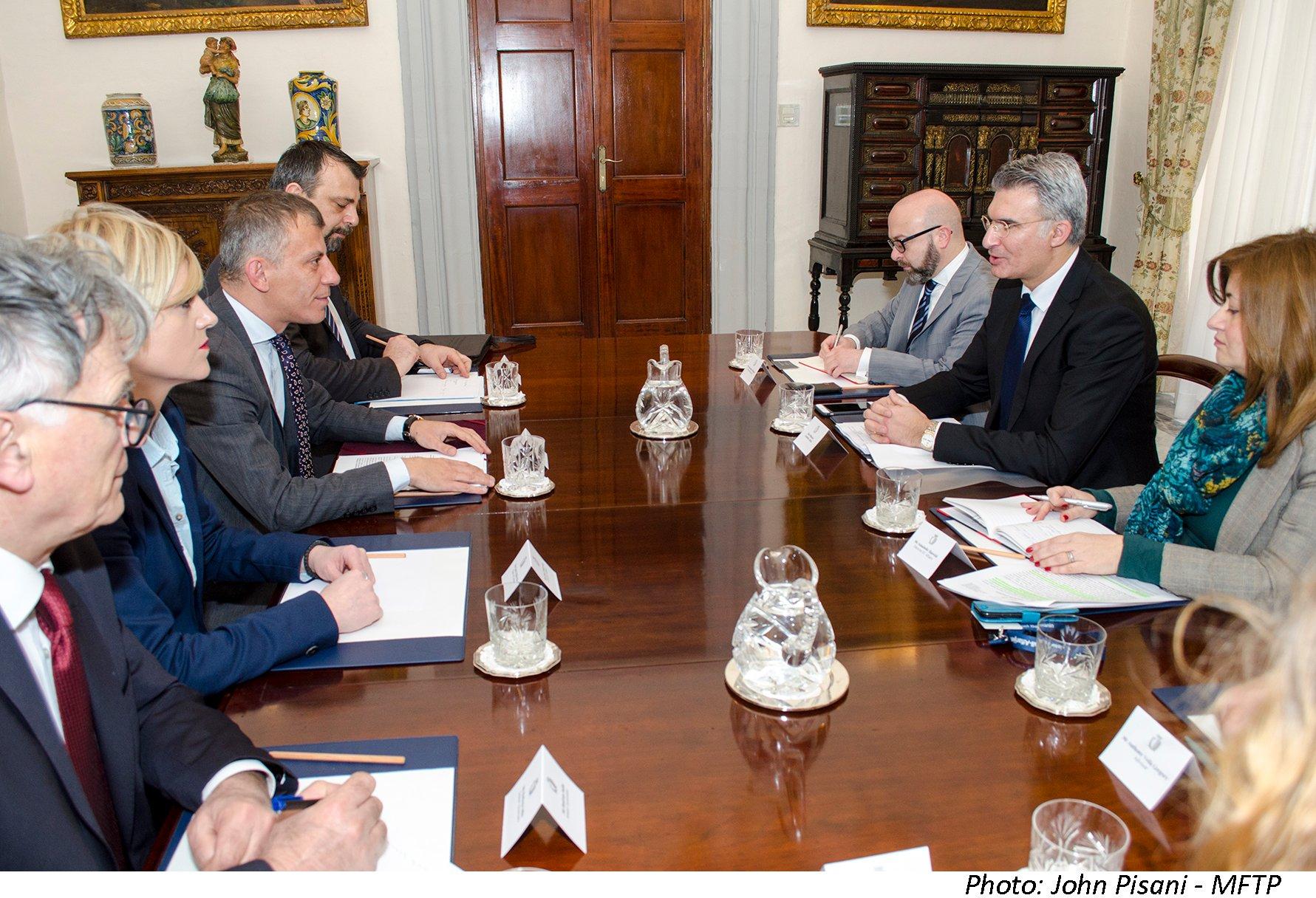 Иотврдено пријателството меѓу Република Македонија и Република Малта