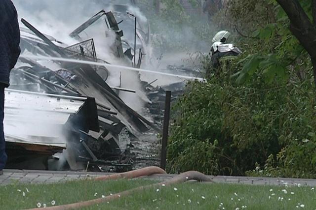 Голем пожар ги пеплоса бараките во близина на ГУЦ   Здравко Цветковски
