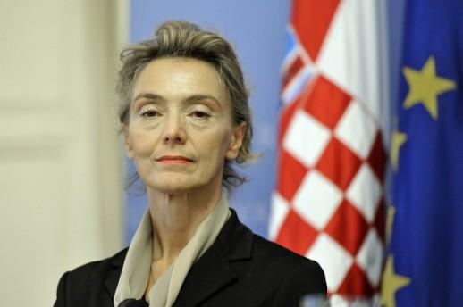 Хрватската вицепремиерка Пејчиновиќ Буриќ во посета на Македонија