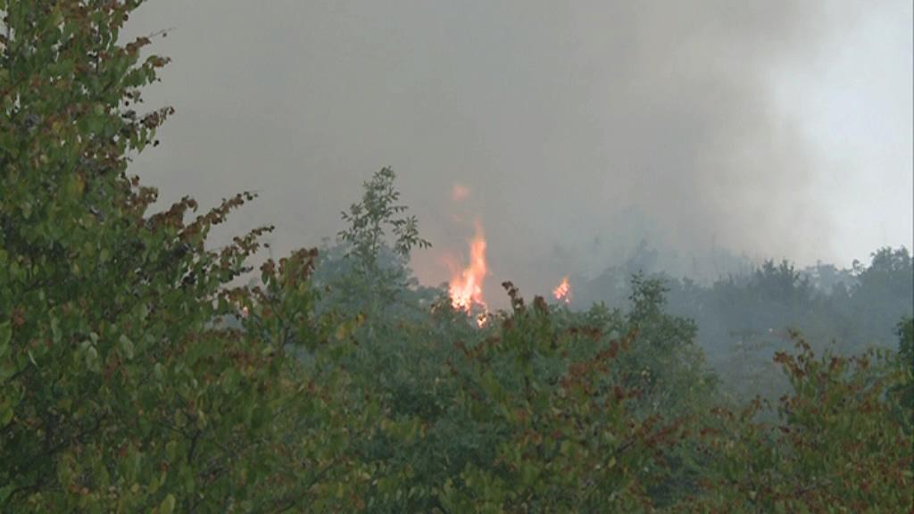 Гори низ цела Македонија   ветрот ги разгорува локализираните пожари