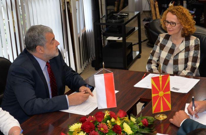 Шекеринска   Мултановски  Македонија и Полска имаат одлична одбранбена соработка