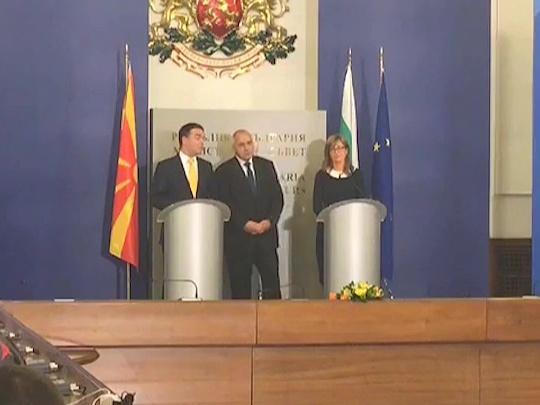 Димитров на средби со Борисов и Захариева во Софија
