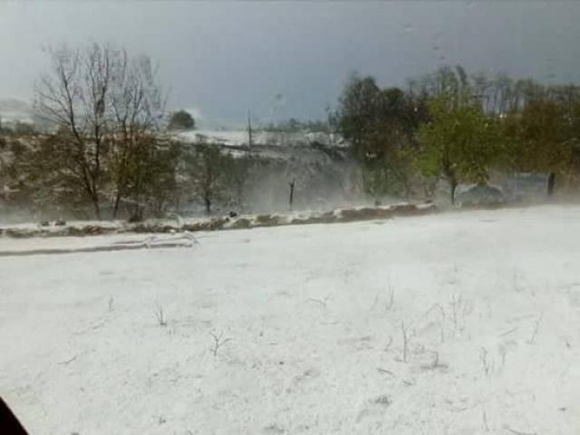 Централна Србија побеле од град  Галерија