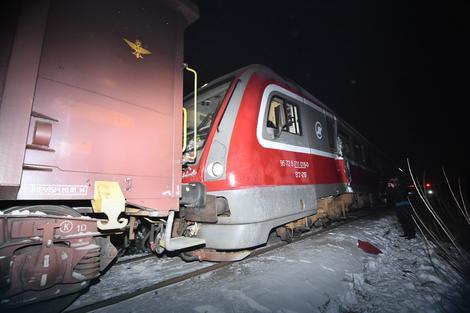 Се судрија два воза близу Нови Сад има повредено