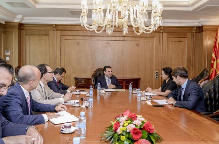 Средба Заев   Рахман  транспарентно работење за релаксирана атмосфера во економијата