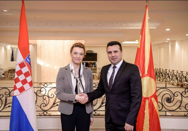 Средба Заев   Пејчиновиќ Буриќ Охрабруваат позитивниот реформски дух и чекорите на добрососедство