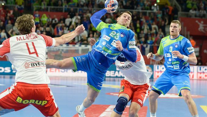 Словенија нема шанси за полуфинале   Данците посилни