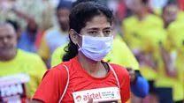 Илјадници трчаа на   Смогатон  во Делхи