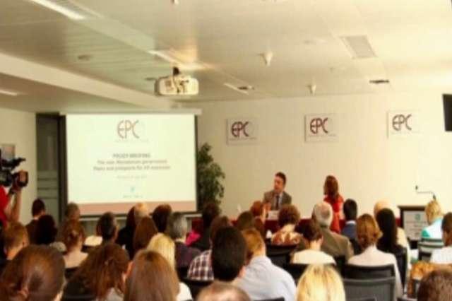 Димитров ги претстави реформските приоритети во Центарот за европски политики во Брисел