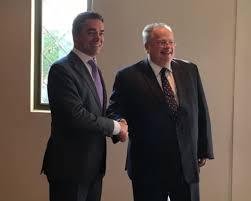 Димитров и Коѕијас се сретнале во Солун