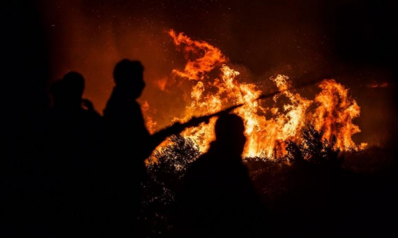 МЗШВ  Министерот е на своето работно место  будно се следи состојбата со пожарите