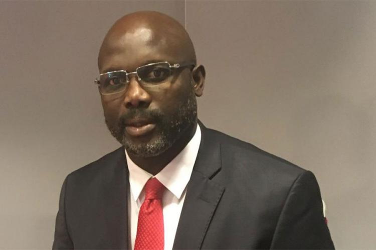 Некогаш најдобриот фудбалер на светот избран за претседател на Либерија