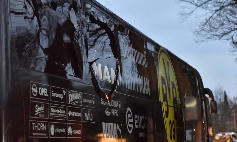 Уапсен напаѓачот на автобусот на фудбалскиот клуб Борусија Дортмунд