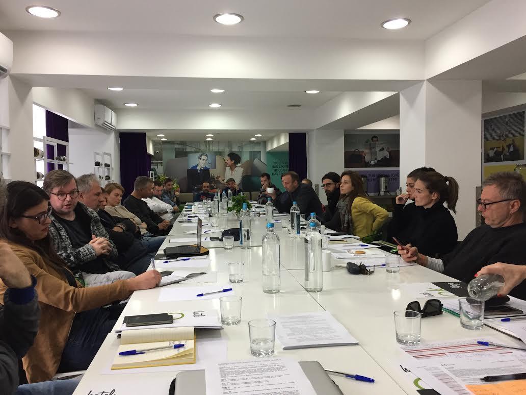 Трибина на Друштвото на филмски работници за состојбата во македонскиот филм