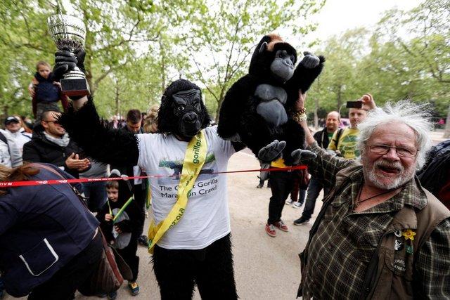 Господин Горила го заврши Лондонскиот Маратон