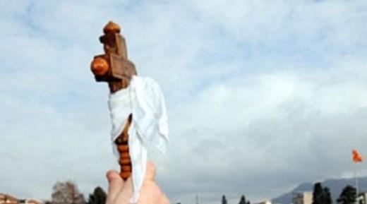 Светиот крст во Гостивар го фати Душко Милошески