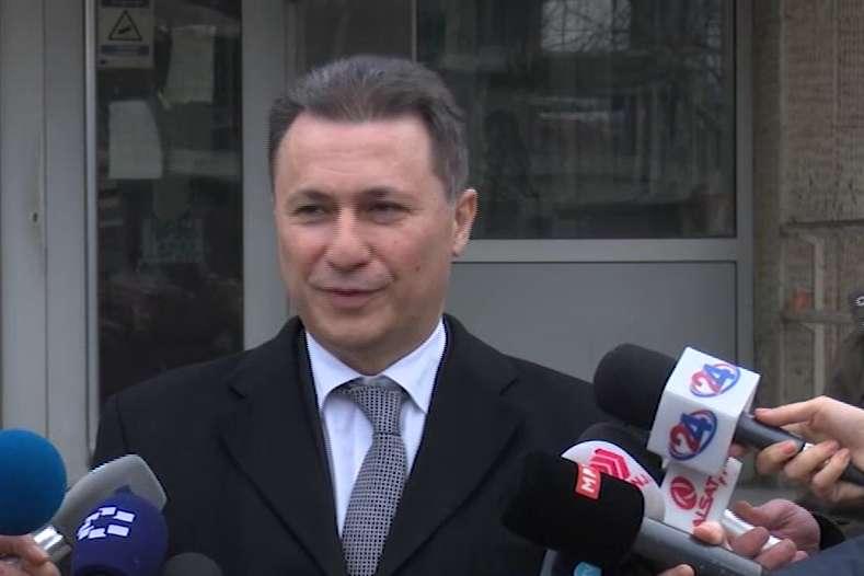 Груевски  Ова е политички процес