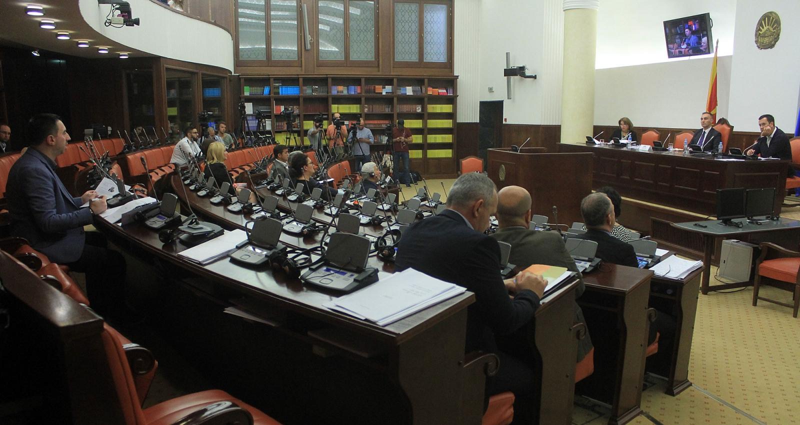 Одложено второто читање на Законот за јазиците