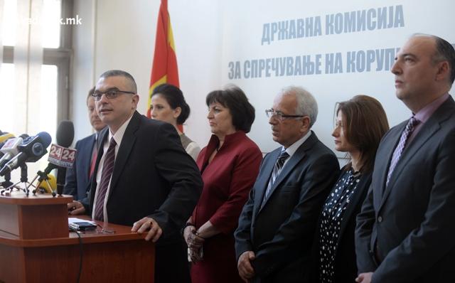 Собранието разреши петмина членови на Комисијата за спречување на корупцијата
