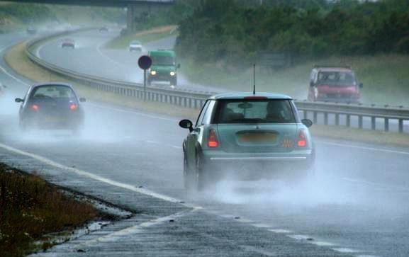 Image result for Сообраќајот по влажни коловози