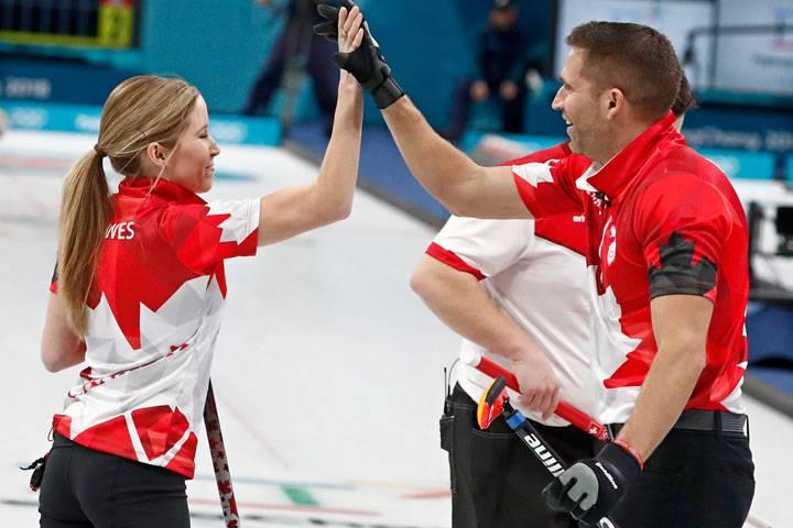 Канада со првиот златен медал во карлинг за мешани тимови