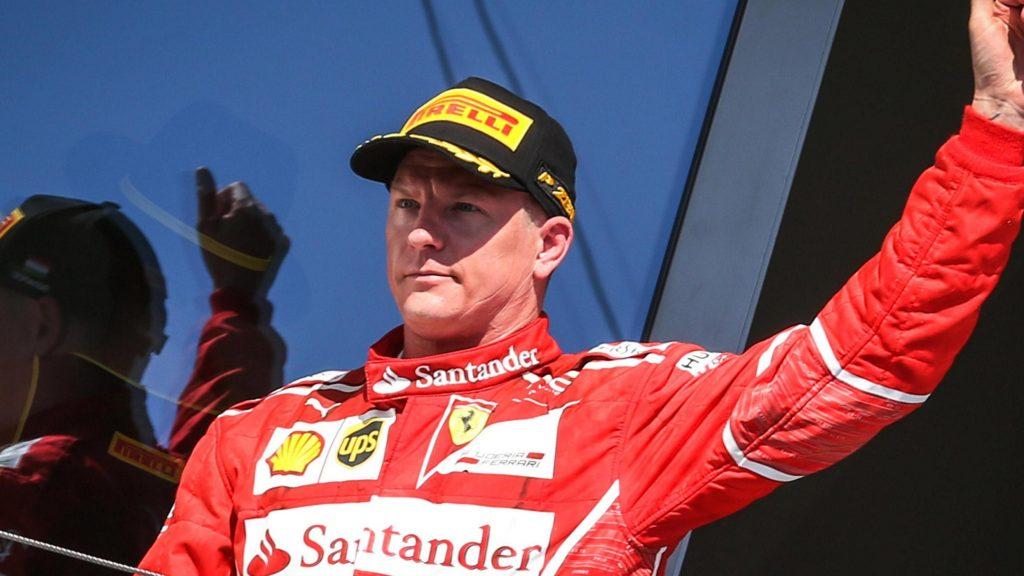 Раиконен и следната година вози за Ферари